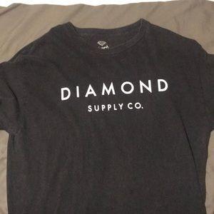 Diamond supply co. Black T-shirt